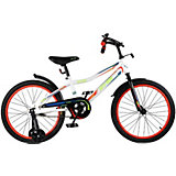 Детский велосипед City-Ride Spark , рама сталь , диск 20 сталь , цвет Белый