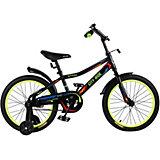 Детский велосипед City-Ride Spark , рама сталь , диск 18 сталь , цвет Черный