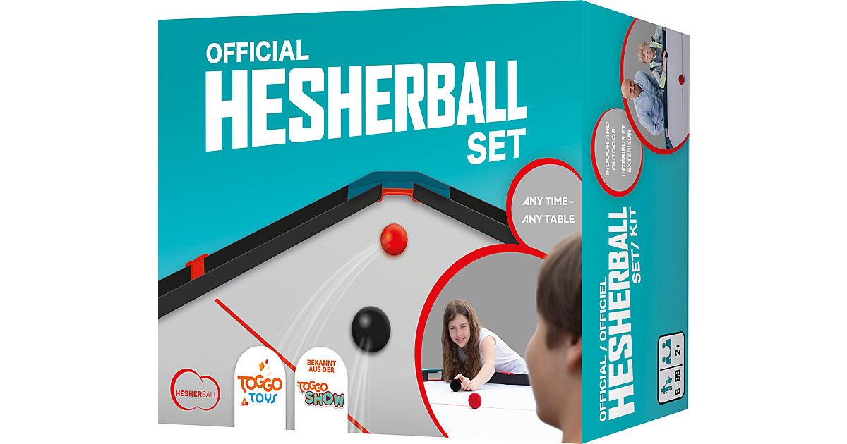 Hesherball Set schwarz/blau