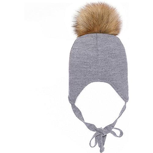 Шапка BJÖRKA - серый от BJÖRKA