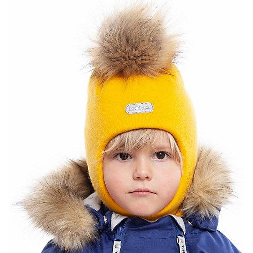 Шапка-шлем BJÖRKA - желтый от BJÖRKA