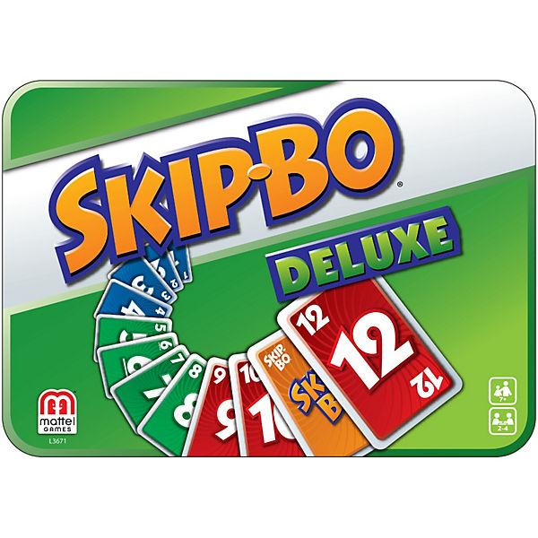 Mattel Games Skip-Bo Deluxe, Geschenkbox, Mattel Games