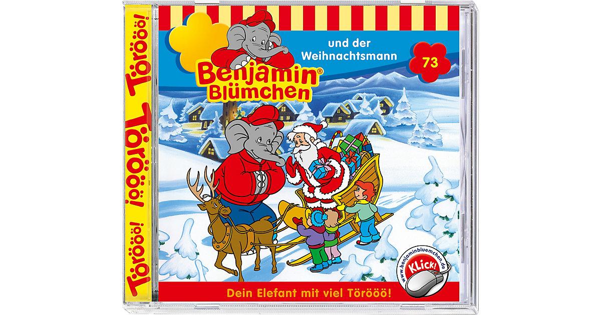 CD Benjamin Blümchen 73 (Weihnachtsmann) Hörbuch