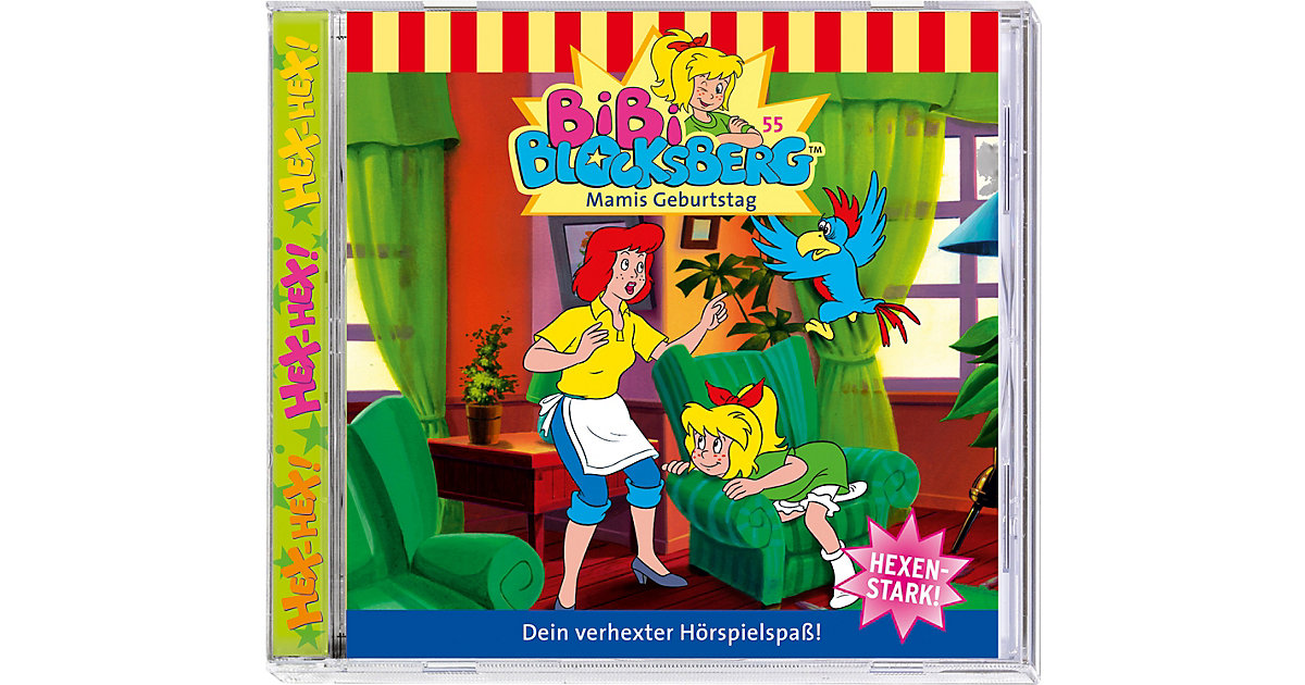 CD Bibi Blocksberg 55 (Mamis Geburtstag)