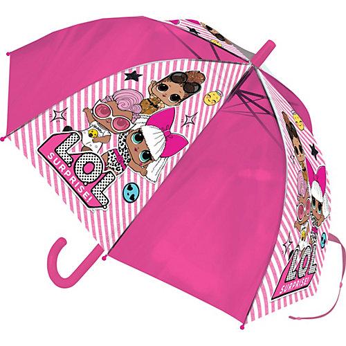 Зонт-трость LOL - розовый