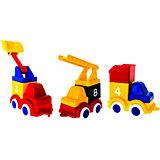 """Набор Viking Toys """"Строители - Построй 3 машинки"""""""