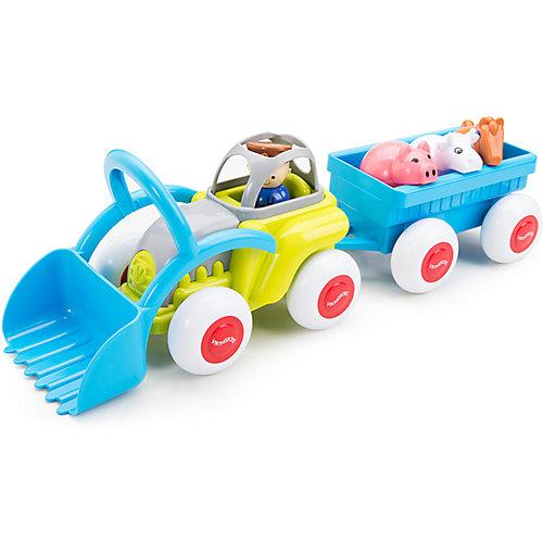 """Набор Viking Toys """"Сафари. Трактор с животными в прицепе"""" от Viking Toys"""