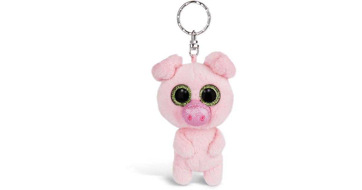 Glubschis Schlüsselanhänger Schwein Zuzumi 9cm (46315) rosa-kombi