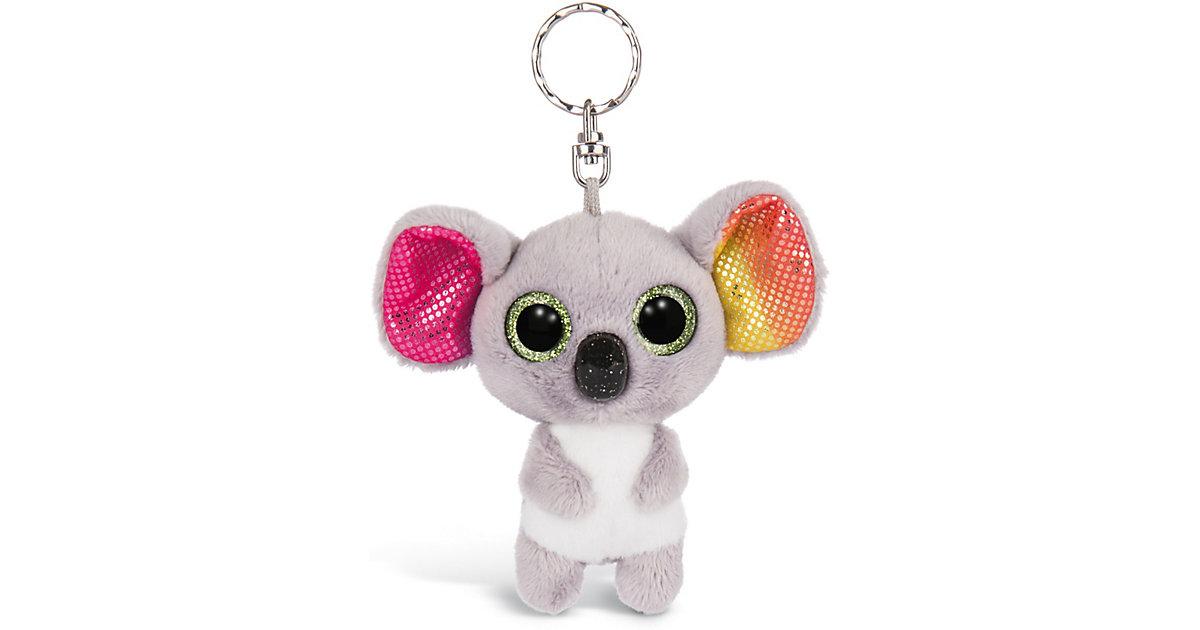 Glubschis Schlüsselanhänger Koala Miss Crayon 9cm (46310) grau-kombi