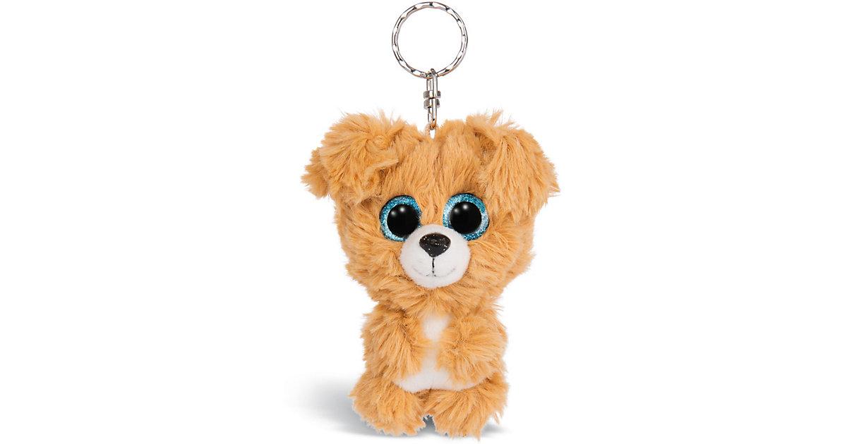 Glubschis Schlüsselanhänger Hund Lollidog 9cm (46312) orange