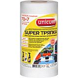 Тряпка Unicum Super, 70+7 листов в рулоне