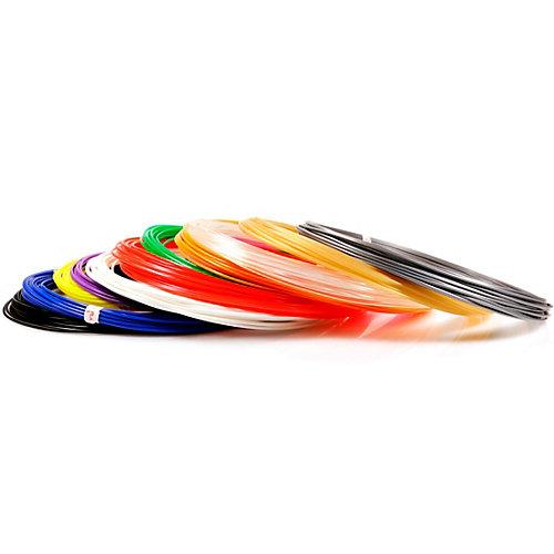 Комплект пластика Unid PLA для 3Д ручек, 15 цветов в органайзере от Unid