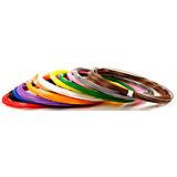 Комплект пластика Unid ABS для 3Д ручек, 12 цветов в органайзере