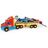 """Игровой набор Wader Super Truck """"Автовоз формула 1"""""""