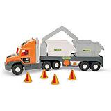 Игровой набор Wader Super Tech Truck, с контейнерами