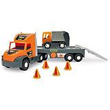 Игровой набор Wader Super Tech Truck, с мусоровозом