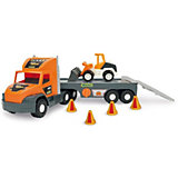 Игровой набор Wader Super Tech Truck, с бульдозером