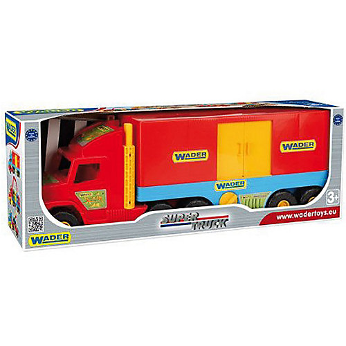 Игровой набор Wader Super Truck Фургон от Wader