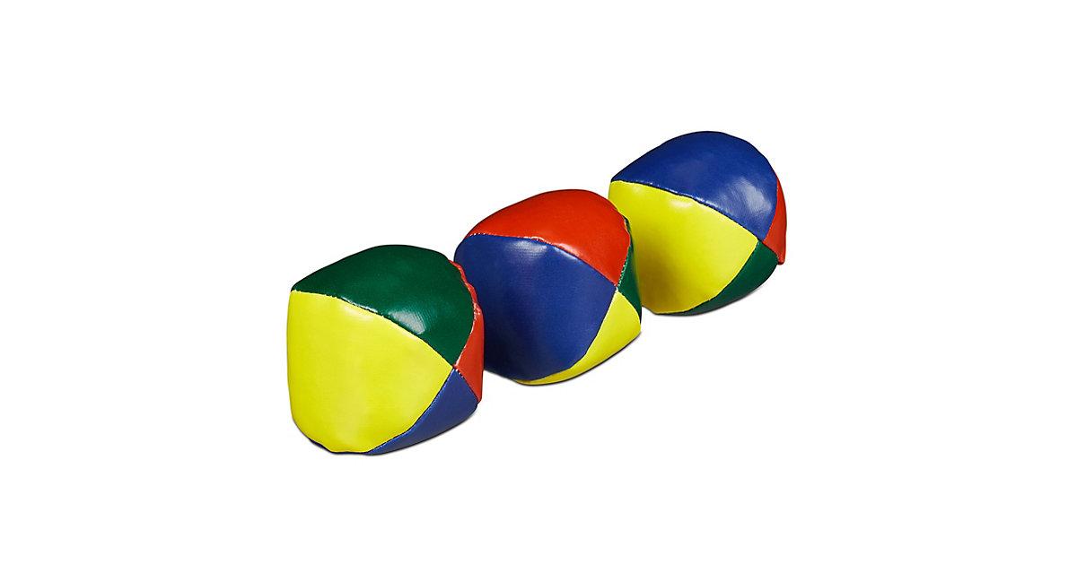 Jonglierbälle 3er Set mehrfarbig