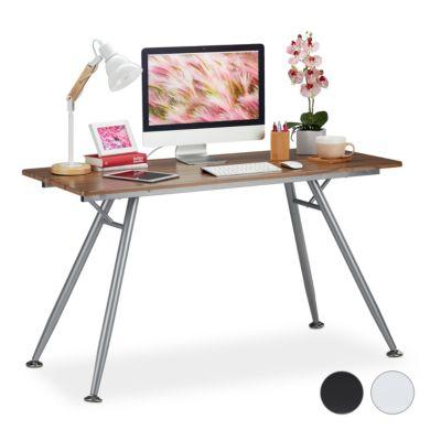 Moderner Schreibtisch holzfarben