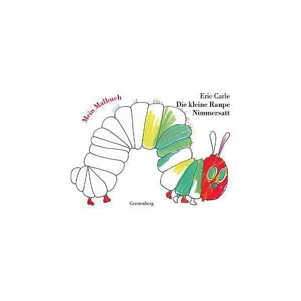 Die kleine Raupe Nimmersatt, Mein Malbuch, Eric Carle | myToys