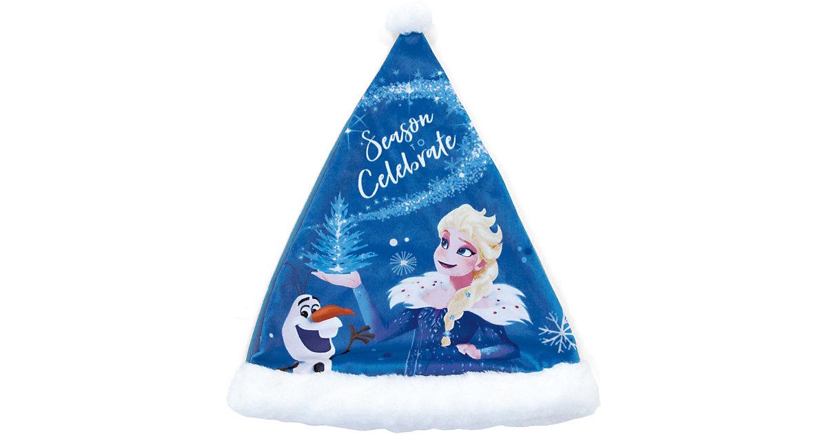 Disney Die Eiskönigin Weihnachtsmütze Gr. one size Mädchen Kleinkinder