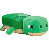 Мягкая игрушка Jinx Minecraft Happy Explorer Sea Turtle 18 см