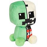 Мягкая игрушка Jinx Minecraft Mini Crafter Creeper Anatomy 11 см