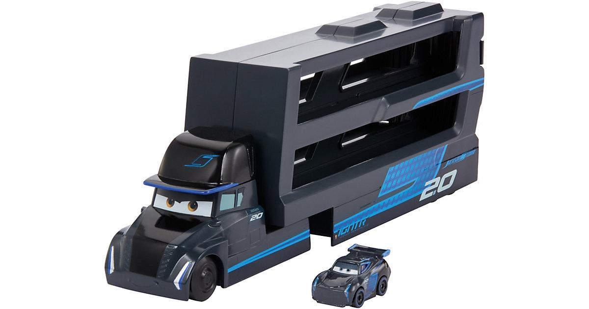 Disney Pixar Cars Mini Racer Transporter Jackson Storm (inkl. 1 Mini Racer)