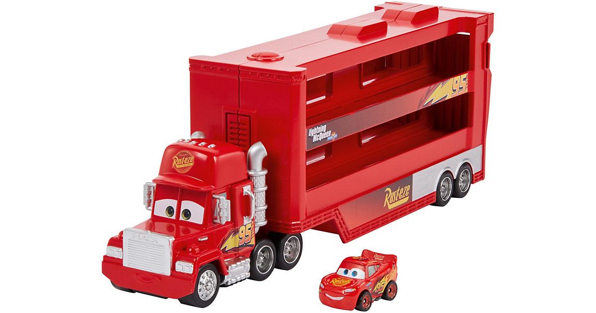 Disney Pixar Cars Mini Racer Transporter Mack  (inkl. 1 Mini Racer)