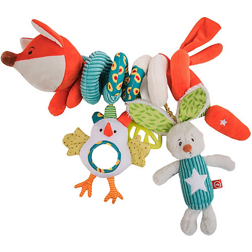 Развивающая игрушка-спираль Happy Baby Лисичка Люся от Happy Baby