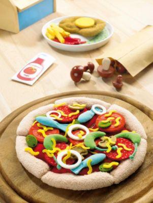 HABA 1443 Pizza, Stoff