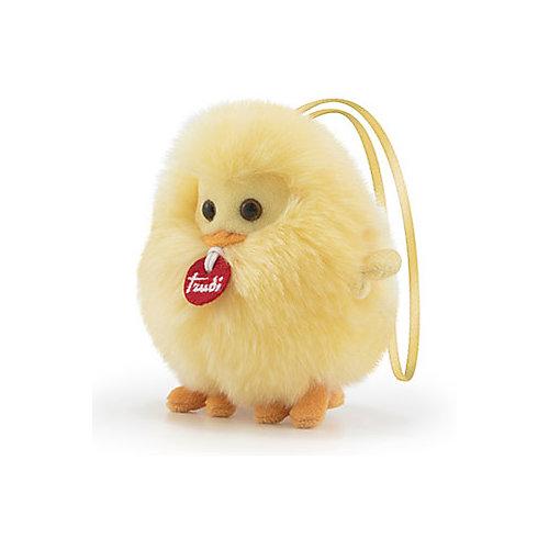 Мягкая игрушка Trudi Цыплёнок-пушистик на веревочке, 10 см от Trudi