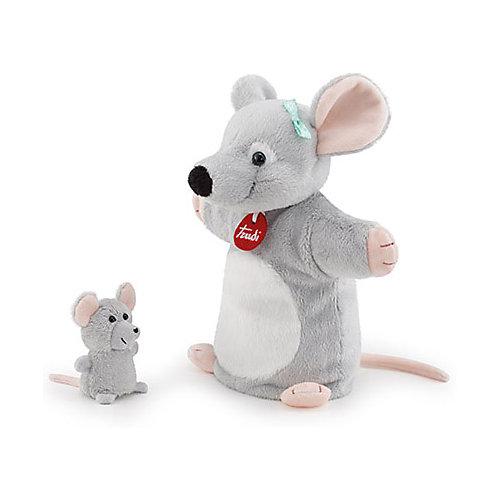 Игрушка на руку Trudi Мышка с мышонком, 24x26x12 см от Trudi