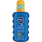 """Солнцезащитный спрей Nivea Sun Kids """"Играй и купайся"""" SPF 30, 200 мл"""