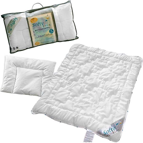 Kinder Bettdecke Kissen Set Softyfil Kunstfaser 100 X 135 40 X