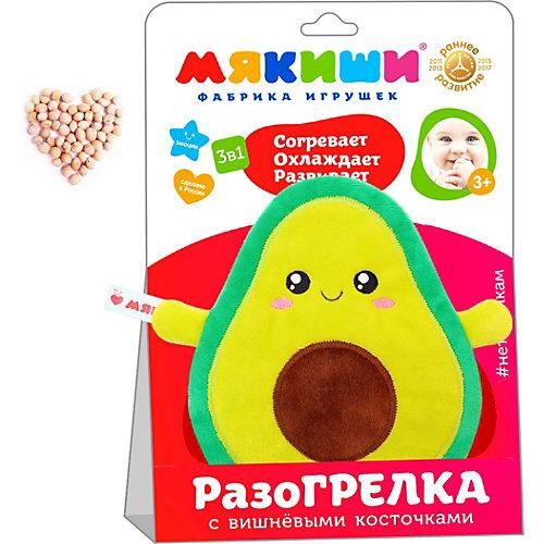 """Игрушка-грелка Мякиши """"Доктор Мякиш"""" Авокадо от Мякиши"""