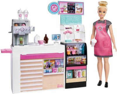 Barbie Schatulle Haus mit Puppe Mädchen Set Möbel und