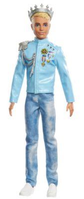Barbie Prinzessinnen Abenteuer Prinz Ken Puppe, Anziehpuppe, Modepuppe, Barbie