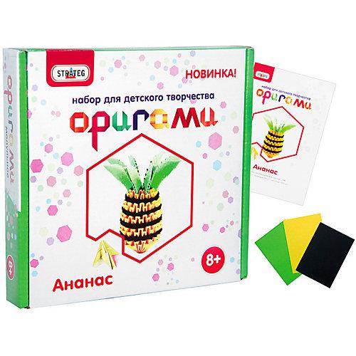"""Модульное оригами Strateg """"Ананас"""" от Strateg"""