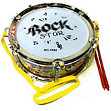 Барабан Наша Игрушка Рок, 20 см