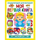 Моя первая книга. Энциклопедия для малышей от 6 месяцев до 3 лет(МЕЛОВКА)