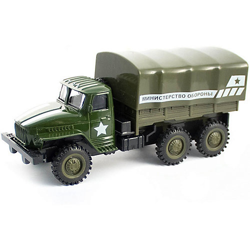 Инерционная машинка Kaiyu Армейский военный грузовик от Kaiyu