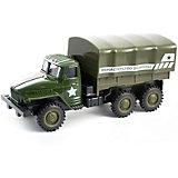 Инерционная машинка Kaiyu Армейский военный грузовик
