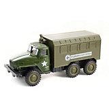 Инерционная машинка Kaiyu Медицинский военный грузовик