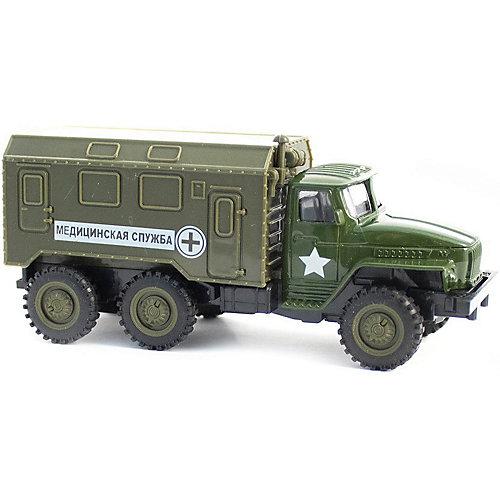Инерционная машинка Kaiyu Медицинский военный грузовик от Kaiyu