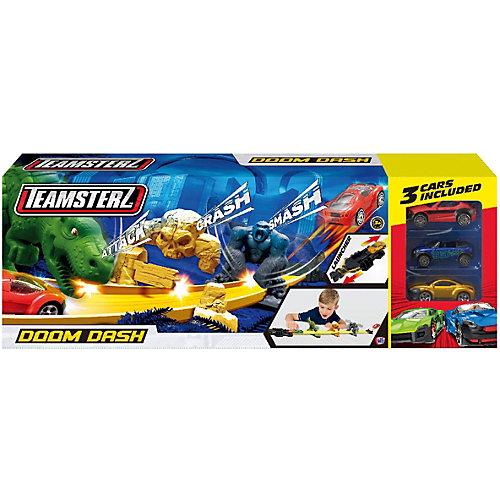 Автотрек HTI Teamsterz Doom Dash, с машинками от HTI