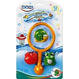 Набор игрушек для ванны Bebelino, с сачком