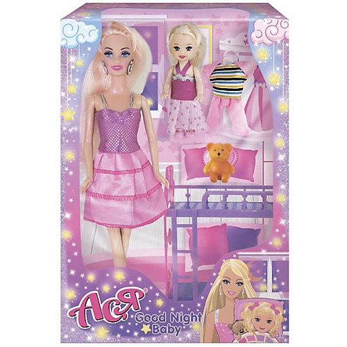 """Набор кукол Toys Lab """"Спокойной ночи, малышка"""" Ася, 28 см от Toys Lab"""