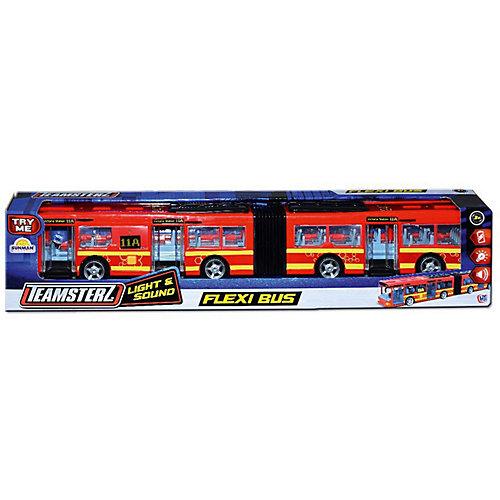 Автобус HTI Teamsterz с гармошкой, 46 см - красный от HTI ...